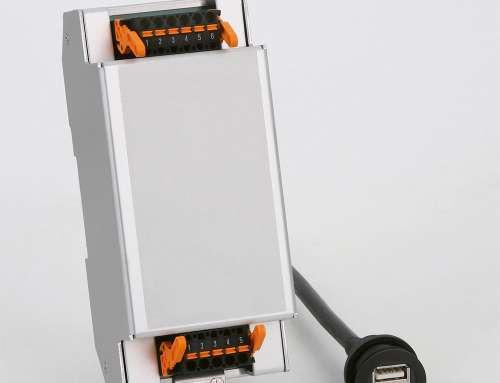 Elektronikgehäuse für ein Führerstand USB-Ladegerät