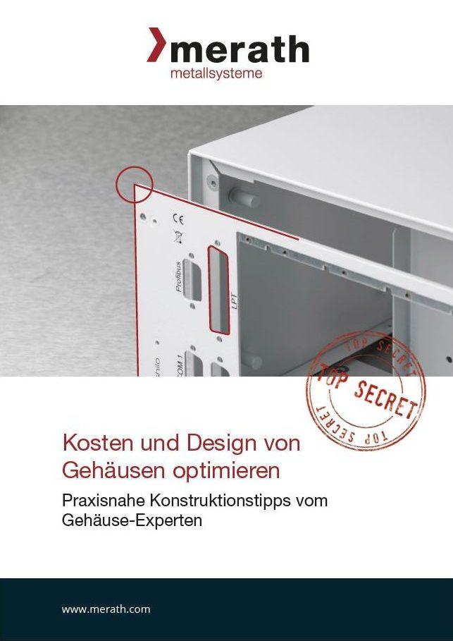 Cover des E-Books Kosten und Design von Gehäusen optimieren