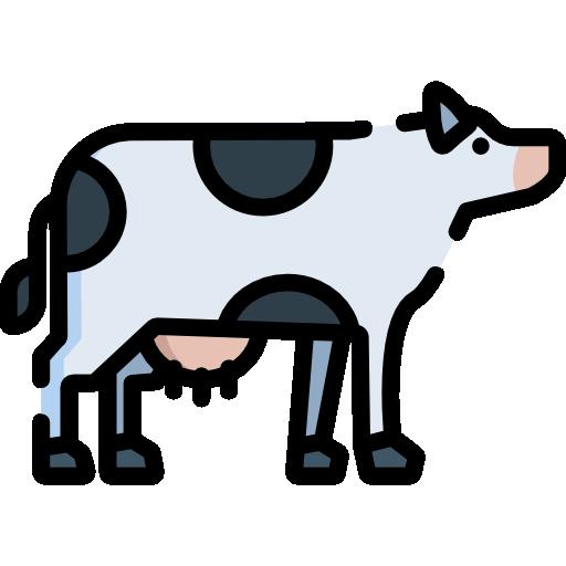 Icon einer Kuh von der Seite